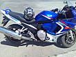 SUZUKI GSX 650F BLUE WHITE ANGEL