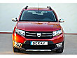 BERAY DAN 2016 DACAİ SANDERO STEPWAY KIRMIZI BAKIMLI Dacia Sandero 1.5 dCi Stepway
