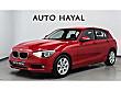 AUTO HAYAL 2012 BMW 1.16i KIRMIZI SADECE 64bin KM JOYSTİCK VİTES BMW 1 Serisi 116i Comfort
