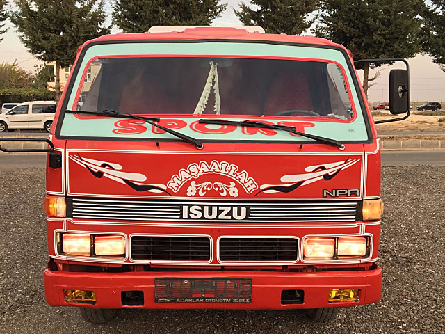 1996 MODEL ISUZU NPR TANKER