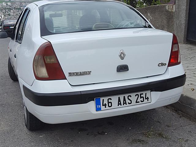 2 el 2003 model beyaz renault clio 23 000 tl tasit com