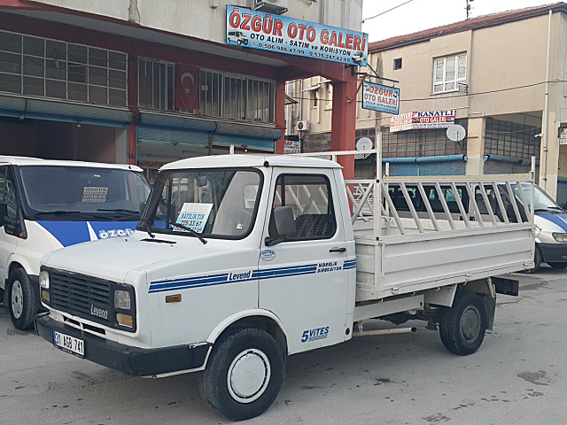2000 MODEL BMC LEVENT ORJİNAL AÇIK KASA KAMYONET HATASIZ