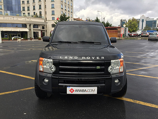 2007 Model 2. El Land Rover Discovery Discovery 3 TDV6 - 286000 KM