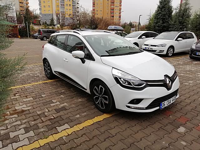 2016 model renault clio otomatik vites