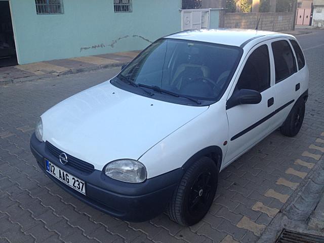 2 el 1998 model beyaz opel corsa 18 500 tl tasit com