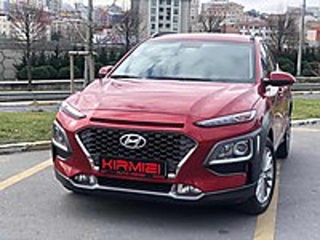 auto kirmizi dan 2018 hatasiz kona 4x4 1.6 t-gdi hyundai kona 1.6 t-gdi elite