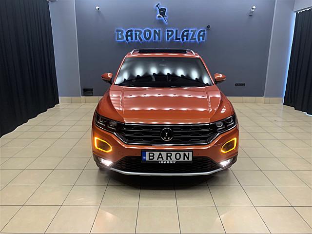 BARON PLAZA DAN 2020 VW T-ROC 1.5 TSİ HİGHLİNE SÜRÜŞ ASİSTAN-ŞERİT TAKİP-KÖR NOKTA-KEYLES-ELEK BAĞAJ-CAM TAVAN