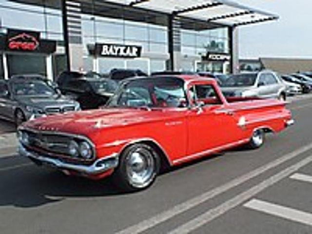 BULUNMASI ZOR 1960 KOMPLE YENİ RESTORELİ OTOMATİK EL CAMİNO Chevrolet Chevrolet Elcamino
