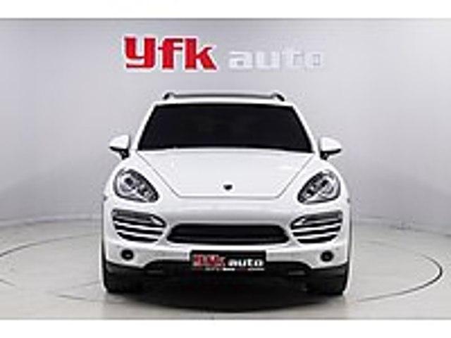 YFK AUTODAN 2012 MODEL PORSHE CAYENNE 3.0 DİZEL VERGİ BARIŞLI Porsche Cayenne 3.0 Diesel