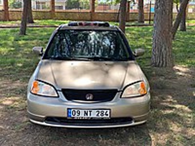KLİMALI-SUNROFLU 2004 MODEL HONDA CİVİC 1.6 VTEC İES LPGLİ Honda Civic 1.6 VTEC ES