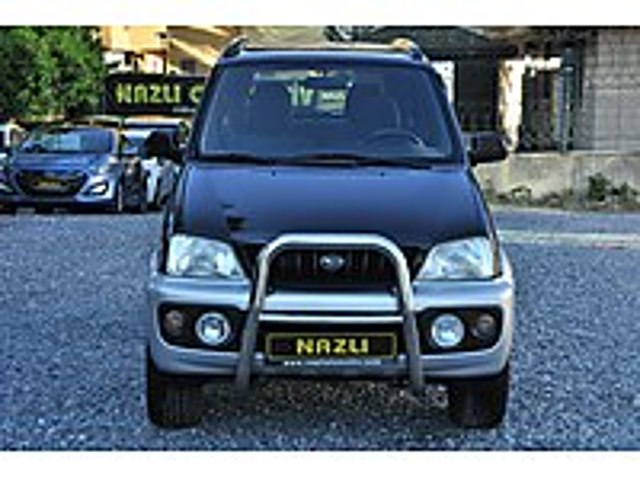 2004 DAİHATSU TERİOS senetle taksitlendirme seçenegimiz vardır Daihatsu Terios 1.3 SX