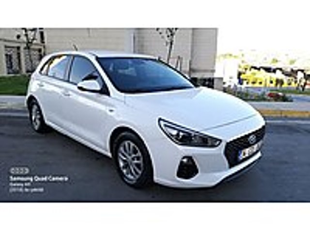 2017 HYUNDAİ İ30 1.4 STYLE 103.000 KM DE TRAMERSİZ VADE VE TAKAS Hyundai i30 1.4 MPI Style