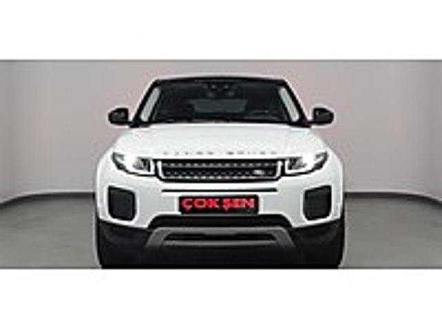 ÇOKŞEN DEN 2016 RANGE ROVER EVOQUE TD4 SE DYNAMİC 76.000KM Land Rover Range Rover Evoque 2.0 TD4 SE Dynamic