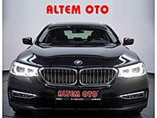 ALTEMOTO DAN 2017 BMW 530İ XDRİVE LUXURY LİNE VAKUM HAYALET TABA BMW 5 Serisi 530i xDrive Luxury Line