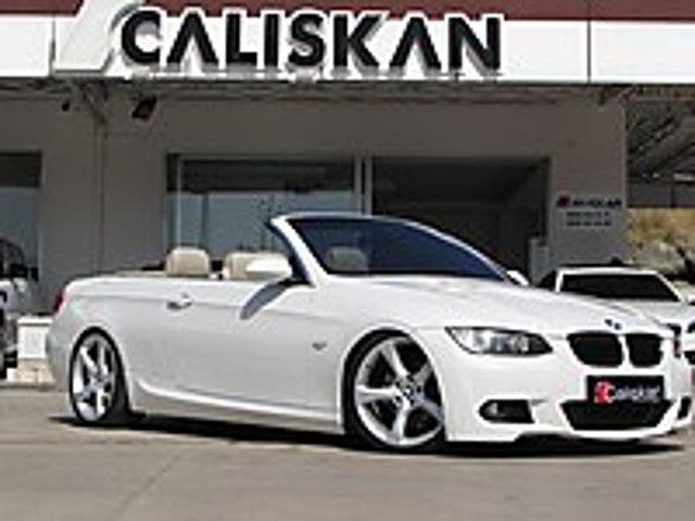 ÇALIŞKAN OTO SAMSUN 2009 BORUSAN İÇİ BEJ M PAKET BAKIMLI 19 JNT BMW 3 Serisi 320i Cabrio