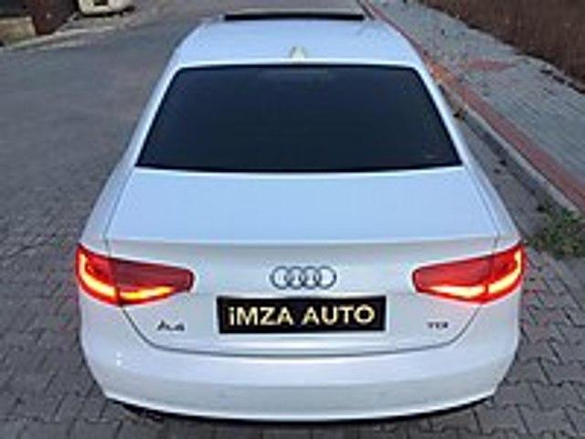 İMZA AUTO dan DEĞİŞENSİZ SANRUFLU A4 2.0 TDİ 177 HP Audi A4 A4 Sedan 2.0 TDI
