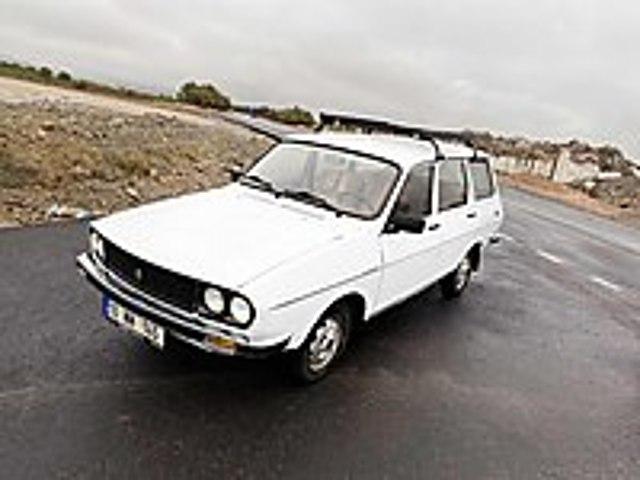 Samanlıktan Çıkardık 4 sene Kullandık İkinci Sahibiyiz Renault R 12 TSW