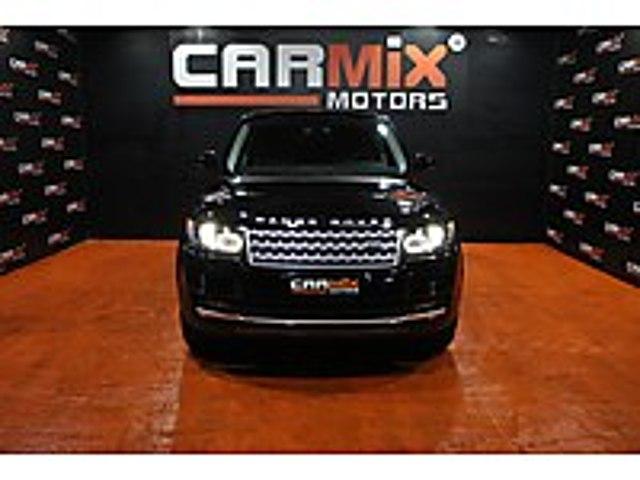 CARMIX MOTORS 2015 LAND ROVER RANGE ROVER VOGUE BAYİİ ÇIKIŞLI Land Rover Range Rover 3.0 TDV6 Vogue