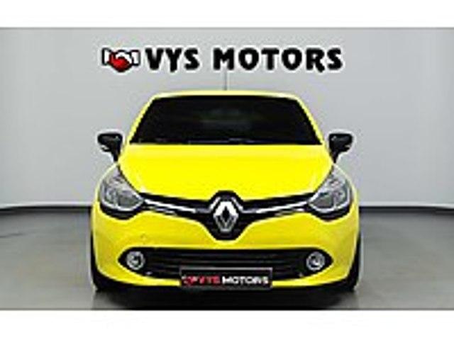 VYS MOTORS 2014 MODEL CLİO 1.2 İCON 16V MASRAFSIZ RENAULT CLIO 1.2 ICON