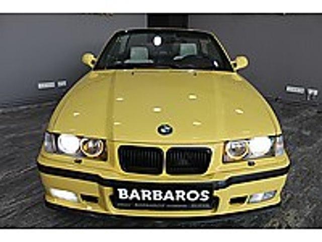 BMW 3.20 İ CABRİO DAKARGEL SARI-SİNEKLİK- ORJİNAL M SPORT BMW 3 Serisi 320i Cabrio