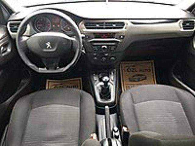 ÖZL AUTO DAN TAMAMINA KREDİ İLE 3695 TL 48 AY TAKSİTLE YENİ KASA Peugeot 301 1.6 HDi Active
