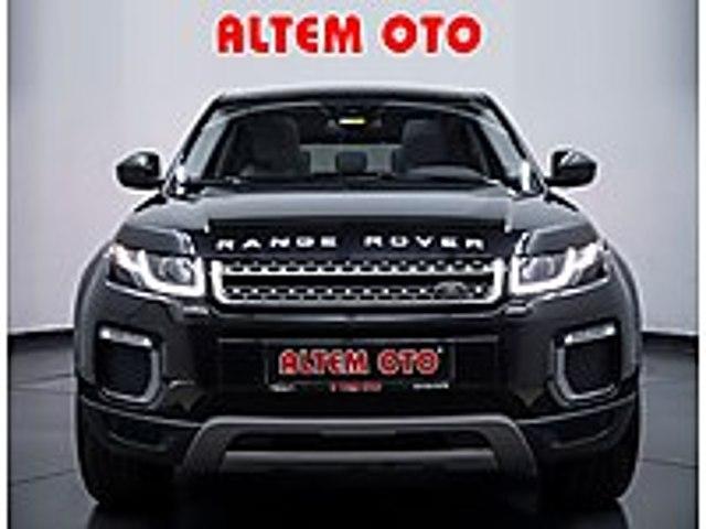 ALTEMOTO DAN 2016 RANGE ROVER evoque 2.0 TD4 HSE DYNAMİC BOYASIZ Land Rover Range Rover Evoque 2.0 TD4 HSE Dynamic