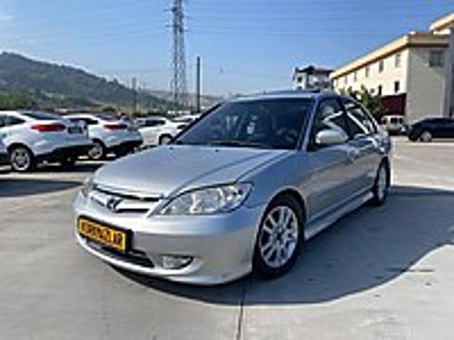 KORKMAZLAR DAN 2004 HONDA CİVİC 1.6 VTEC 2 ES SUNROOFLU Honda Civic 1.6 VTEC ES