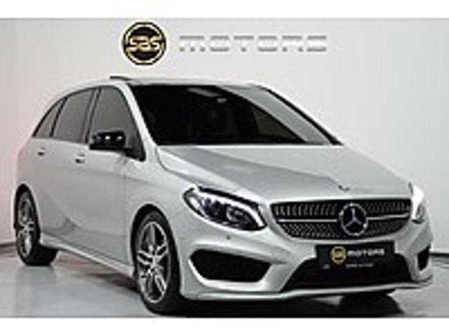 SBS MOTORS 2016 MERCEDES B180 AMG GECE PAKETİ CAM TAVAN HATASIZ Mercedes - Benz B Serisi B 180 CDI AMG