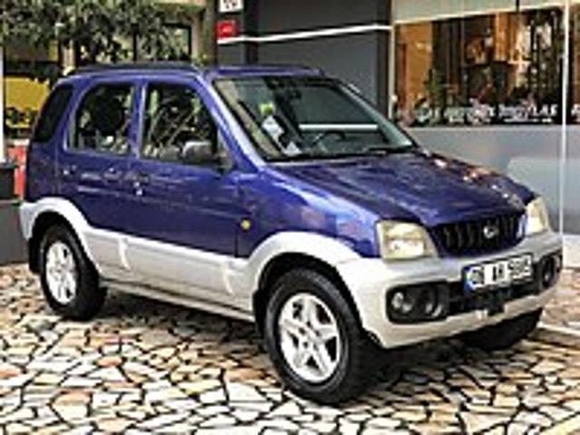 MOTLAS 2003 DAIHATSU TERİOS 1.3 SX 4x4 OTOMATİK 1 PARÇA BOYA Daihatsu Terios 1.3 SX