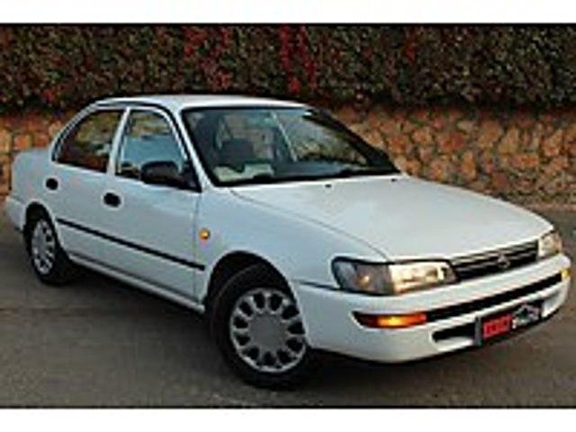 KUSURSUZ GÜZELLİKTE 1995 MODEL 1.6 XLİ TOYATA CORALLA Toyota Corolla 1.6 XLi