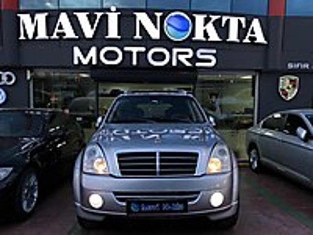 MAVİ NOKTA MOTORS 2008 SsANGYONG REXTON AWD OTOMATİK DERİ HAFIZA Rexton 2.7 XDI RX