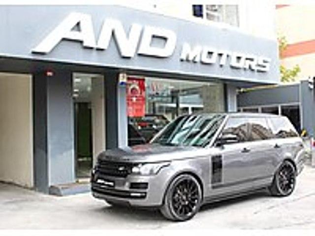 AND MOTORS RR VOGUE 63.000KM SOĞUTMA MASAJ BORUSAN Land Rover Range Rover 3.0 TDV6 Vogue