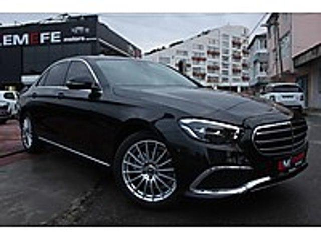 EMEFE MOTORS EXCLUSİVE YENİ BURMESTER M.PERDE VAKM K.ŞARJ CMMND Mercedes - Benz E Serisi E 200 d Exclusive