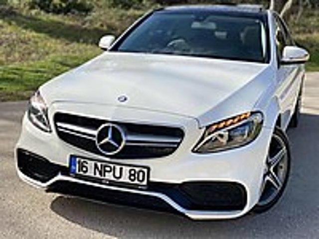 C 200 d BLUETEC HATASIZ BOYASIZ TRAMERSİZ Mercedes - Benz C Serisi C 200 d BlueTEC AMG