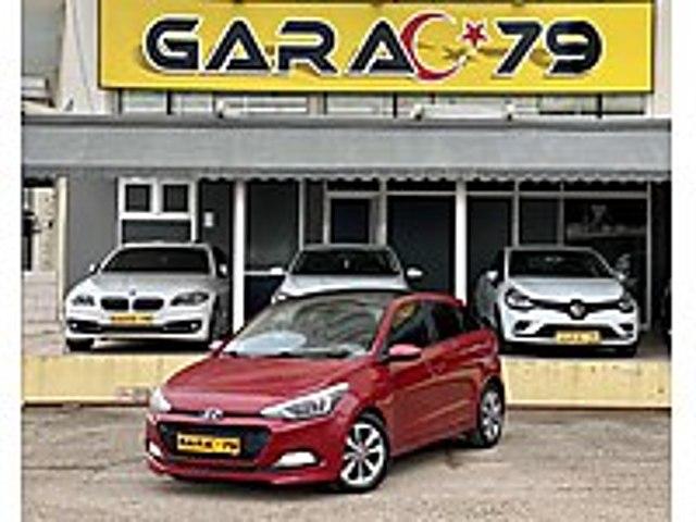 GARAC 79 dan 2017 İ20 1.4 CRDİ ELİTE CAM TAVAN 72.000 KM DE Hyundai i20 1.4 CRDi Elite