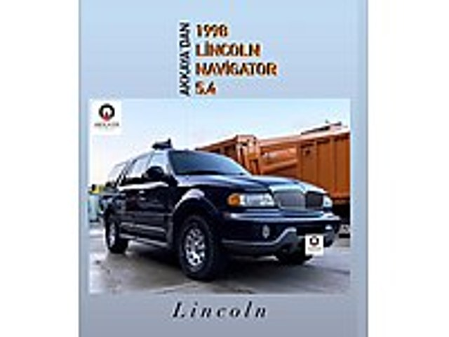 AKKAYA OTOMOTİVDEN 1998 LINCOLN NAVİGATOR Lincoln Navigator 5.4 4WD