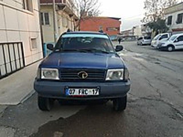 Türkiye de tek 2005 model hatasız boyasız orjinal 196 binde Tata Xenon 4x2