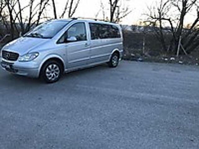 2005 MODEL VİANO 2.2 DCİ VİTES OTOMATİK OTOMOBİL RUHSATLI Mercedes - Benz Viano 2.2 CDI Ambiente Orta