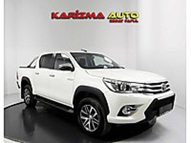 2018 HİLUX OTOMATİK Hİ-CRUİSER 2.4 4x4 22.000 KM BOYASIZ 50.YIL Toyota Hilux Hi-Cruiser 2.4 4x4