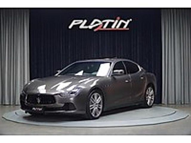 FERMAS 2016 MASERATİ GHİBLİ 3.0D V6 NAVİ HARMAN ISITMA BOYASIZ Maserati Ghibli 3.0