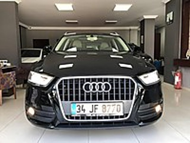 2014 AUDİ Q3 1.4 TFSİ OTOMATİK MASRAFSIZ DEĞİŞENSİZ 3 PARÇA BOYA Audi Q3 1.4 TFSi
