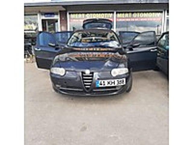 alfa romeo Alfa Romeo 147 1.6 TS Black Line