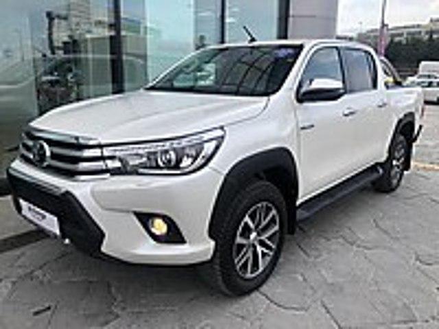 KAR TOYOTA YETKİLİ BAYİ DEN HATASIZ Hİ-CRUİSER EXTRA DERİ DÖŞEME Toyota Hilux Hi-Cruiser 2.4 4x4