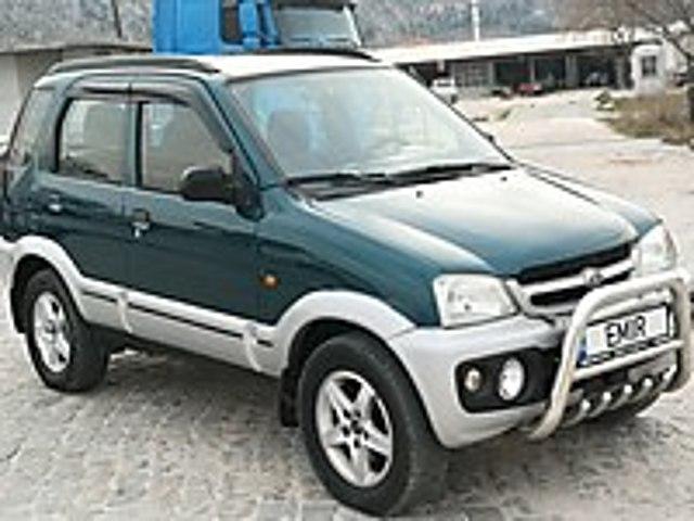 4x4 aktif KLİMALI 2. SAHIBINDEN BIBLO TERIOS Daihatsu Terios 1.3 SX