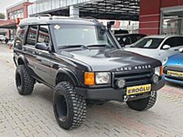 EROĞLU 2000 LAND ROVER DISCOVERY 2.5TD5 MANUEL EXTRALI MASRAFSZ Land Rover Discovery 2.5 TD5