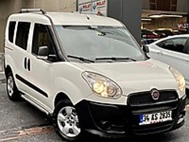 POLAT TAN 2014 FIAT DOBLO 1.3 SAFELİNE EKRANLI 72 BİNDE FULLL Fiat Doblo Combi 1.3 Multijet Safeline