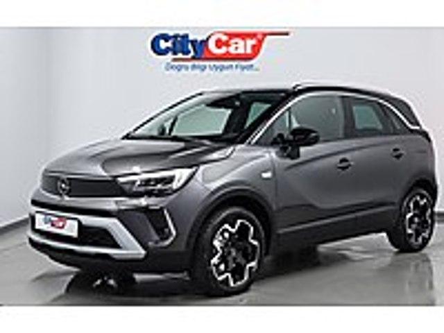 2021 CROSSLAND 1.2T ELEGANCE OTOMATİK...0 KM...HEMEN TESLİM Opel Crossland 1.2 T Elegance