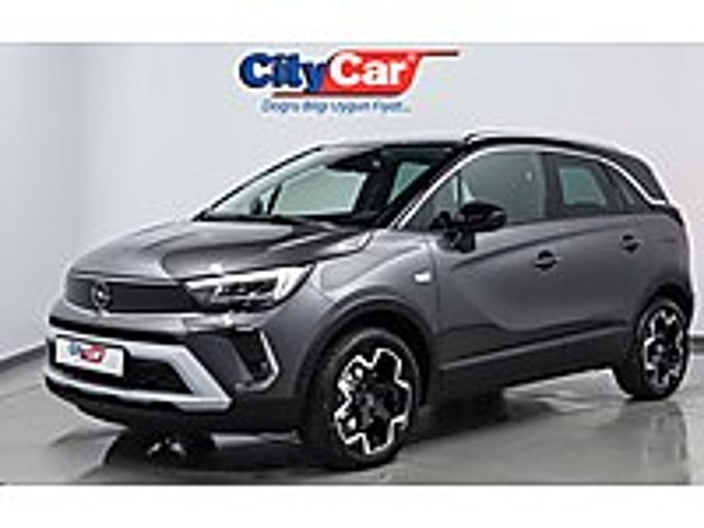 2021 O KM 1.2T ELEGANCE TEKNOLOJİ PAKET D.ISITMA KOLTUK ISITMA Opel Crossland 1.2 T Elegance