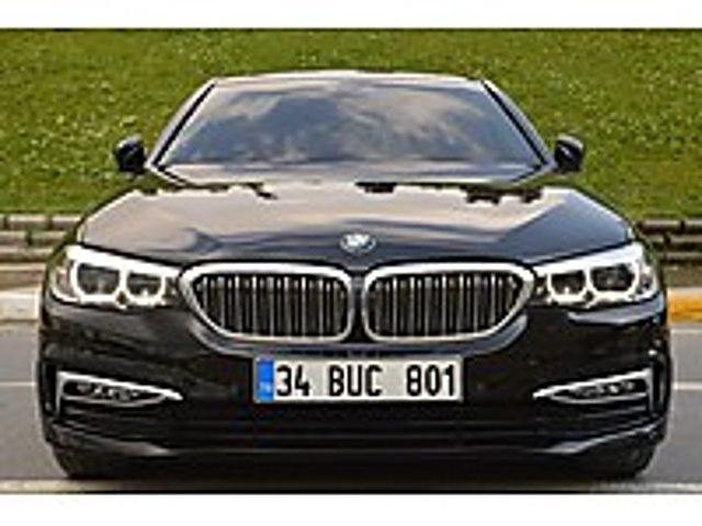 SİYAH BOYASIZ 18KDVDAHİL 2019ÇIKIŞ 55 BİN KÖRNOK NERGİSOTOMOTİV BMW 5 Serisi 520d xDrive Luxury Line