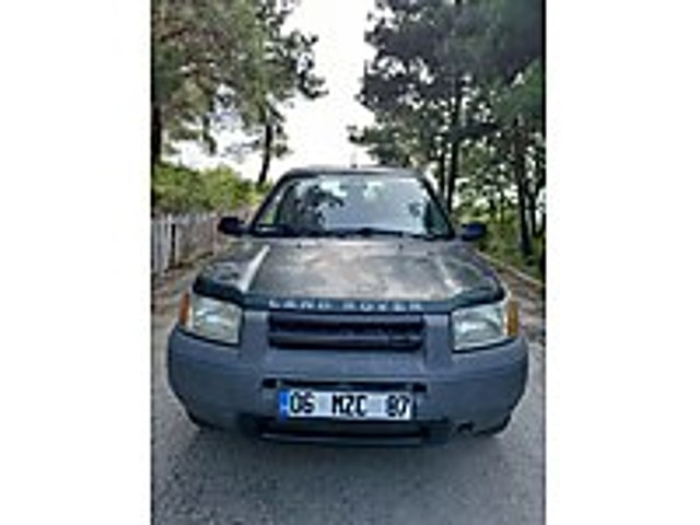 YENI MUANELİ ARAZİ ARABASI ROWER FREELANDER HATASIZ BOYASIZ... Land Rover Freelander 1.8 1.8i